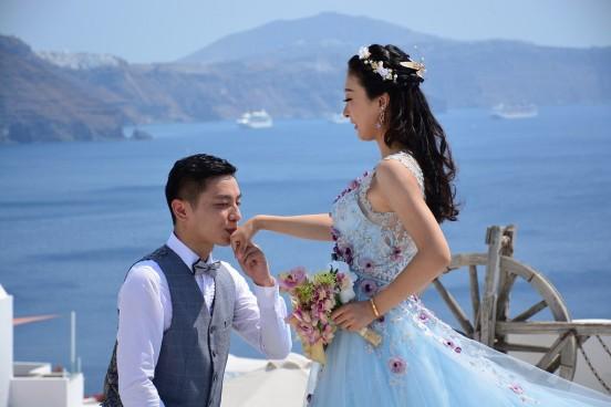 greece wedding santorini