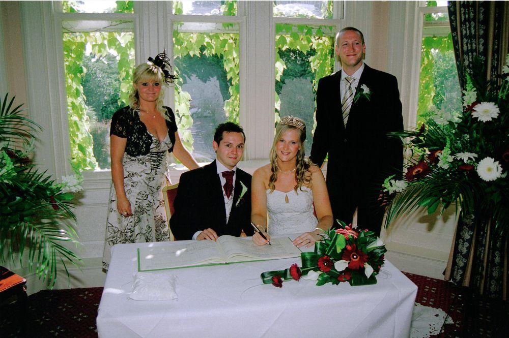 getuigen bruiloft